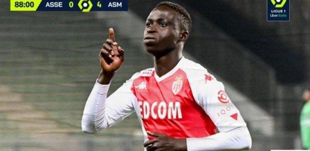 Ligue 1 : Premier but de Krépin Diatta avec Monaco .Regardez