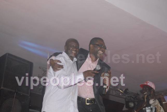 Les deux supers grands: Youssou Ndour et Ismaëla Lo