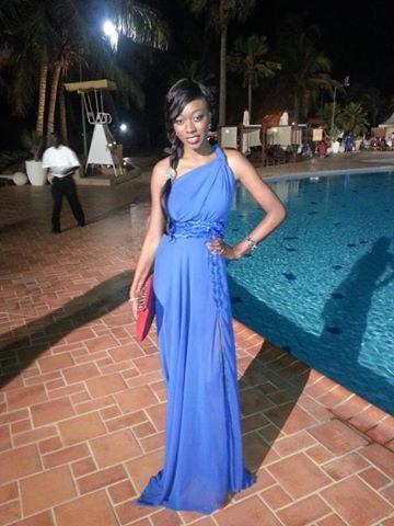 Khady Ndiaye Bijou dans sa belle robe