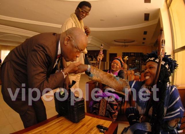Le président des cinéastes sénégalais associés, Cheikh Ngaïdo Bâ est un tombeur!