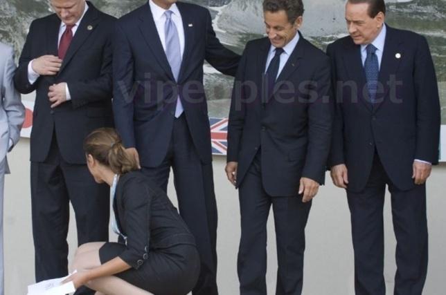 Les hommes politiques sont avant tout des mâles, ils laissent également parler leur instinct