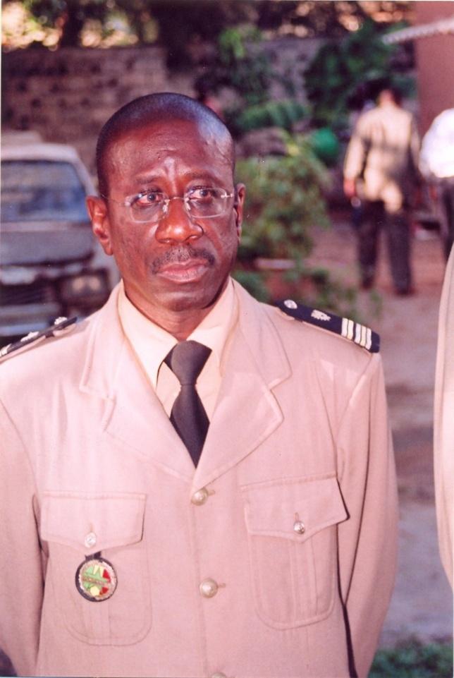 PROFIL: Colonel Abdoulaye Oumar Dieng: L'anti blanchisseur