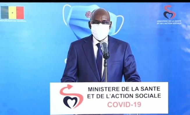 Covid-19: 01 décès, 34 cas positifs et 17 cas graves, ce lundi