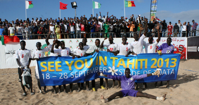 CAN beach soccer : Lions et Éléphants s'affrontent en finale aujourd'hui.