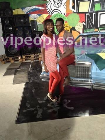 Mor Pro et Mina Badiane sont collés serrés