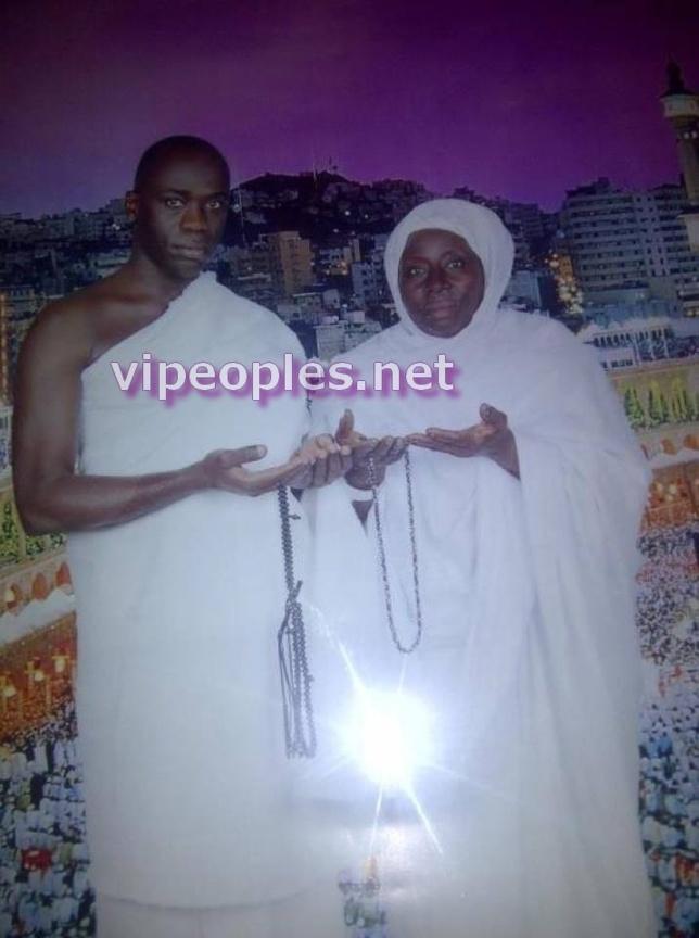 Yerim Seck et sa mère. Une belle photo pour la fête des mères!