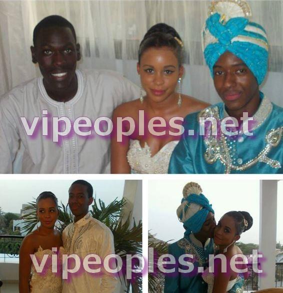 Léa Soukeyna et Ibou Kara Noreyni Mbacké, un couple heureux!