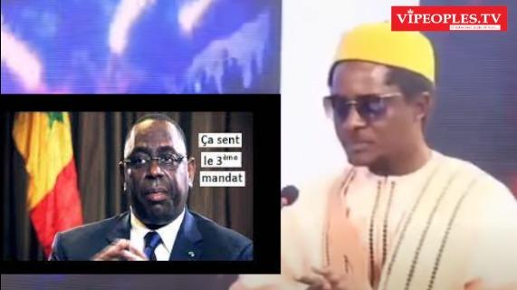 Cheikh Barra Ndiiaye Macky Sall dey am troisième mandat parce force 'Loutakh moy...