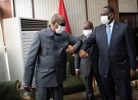 Congo : Tentative de conciliation, Alpha Condé dribble Denis Sassou Nguesso et Umaru Embalo
