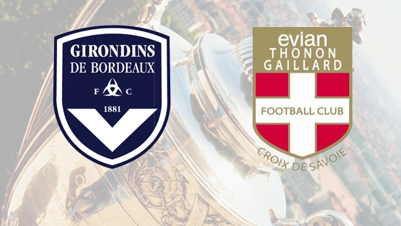 Finale Coupe de France: Bordeaux - Evian TG