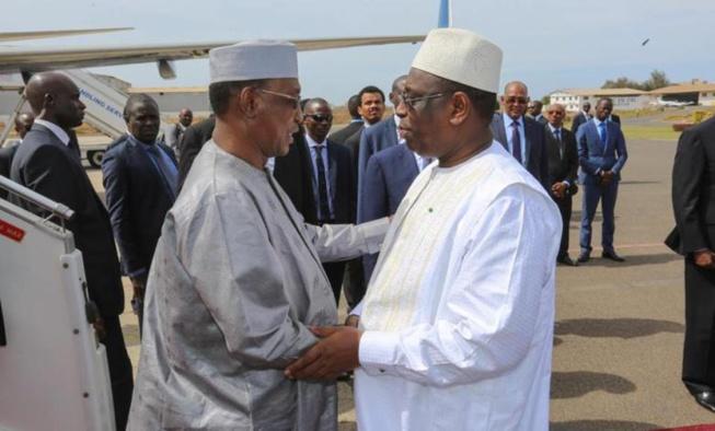 """Macky Sall: """"Le décès du Maréchal du Tchad, le Président Idriss Deby Itno, est une triste nouvelle"""""""