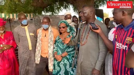 Inauguration,  formation électrification rurale et financement des femmes de la région de Matam: Baba Diallo DG ASER dans sa mission pour le développement
