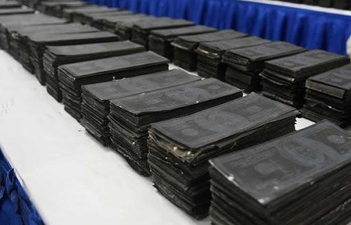 Altération monétaire: Près de 3 milliards en billets noirs saisis aux Mamelles et à Yenne, entre janvier et avril 2021
