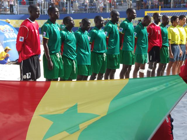 Beach Soccer: Le Sénégal evoluera dans la poule C avec le Bresil