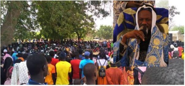 Affrontements à Diohine: Une des maisons du chef religieux Bara Séne brûlée
