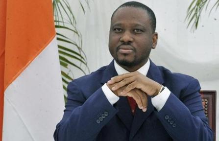 L'ex-chef rebelle ivoirien dans nos murs : Guillaume Soro, président de l'Assemblée nationale, a été accueilli par son homologue Moustapha Niasse