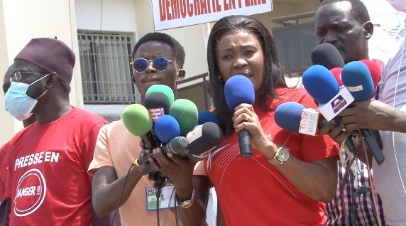 Maimouna Ndour de la 7tv dément les accusations de Birahime Seck ÑIOUNE ÑEP DANIOUY DÉME LEP KHALISS