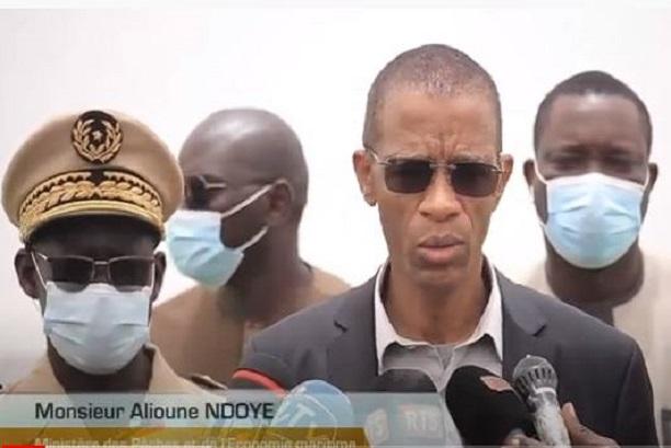 Diagnostic des travaux du Port Minéralier-Vraquier de Sendou : Le ministre Alioune Ndoye se réjouit des avancées, mais des défis demeurent
