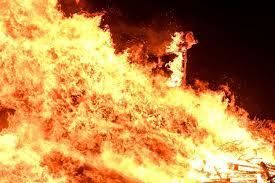 Drame passionnel: Une femme brûlée vive par son ex-époux