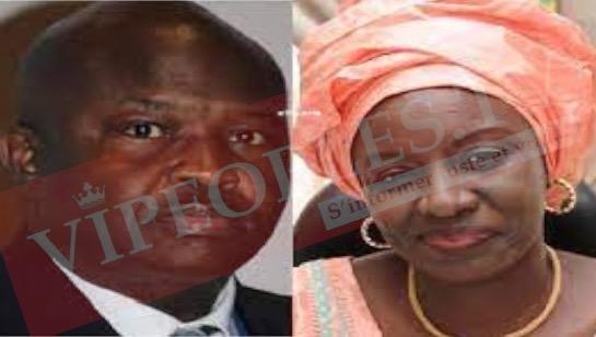Urgent enfin  Mimi Touré avoue sa relation avec le médiateur de la république Alioune Badara Cissé