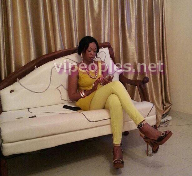 Aby Ndour, envoie-t-elle un message à l'homme de sa vie?