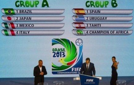Coupe des confédérations: Le Brésil, pays organisateur réussi d'entrée!