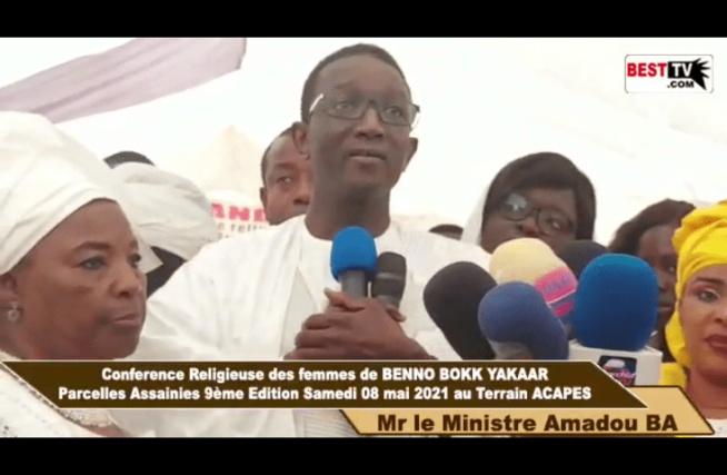 Conférence Femmes Bby aux Parcelles Assainies : Amadou Bâ prône l'unité