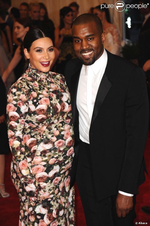 Kim Kardashian et Kanye West : North, le prénom de leur fille !