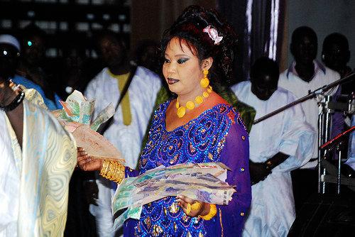 Soirée réussie pour la grande diva Fatou Guéweul à Paris
