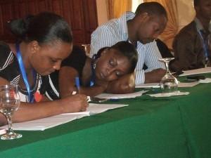 ''Etre journaliste en 2013'', c'est aussi… dormir pendant la formation