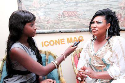 Gina Goudiaby, la plus jeune des journalistes d' Icône Mag
