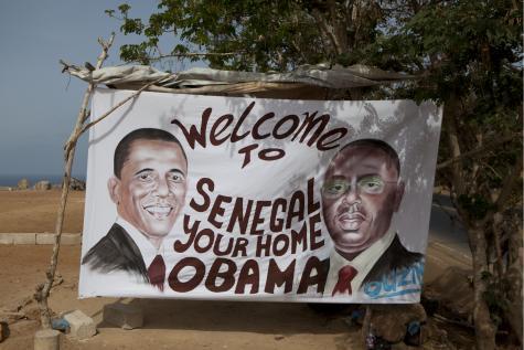 Obama est arrivé à Dakar