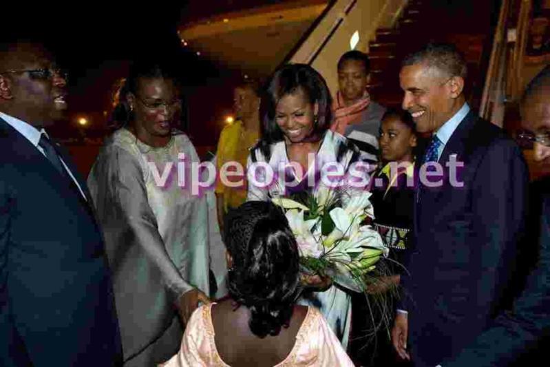 L'image du jour: Obama's Family et Sall's family