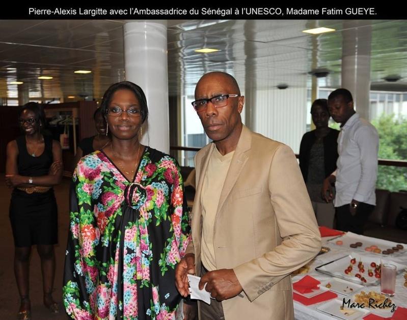 L'UNESCO reçoit des écrivains de Marque