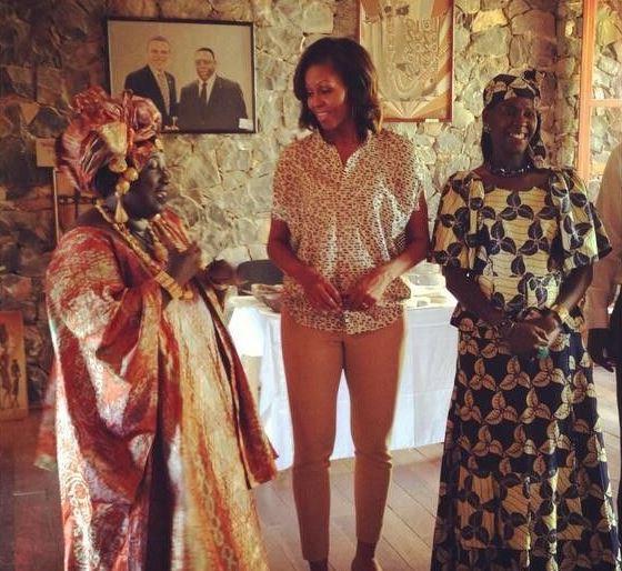 [PHOTOS] Les Obama à Gorée, un moment fort