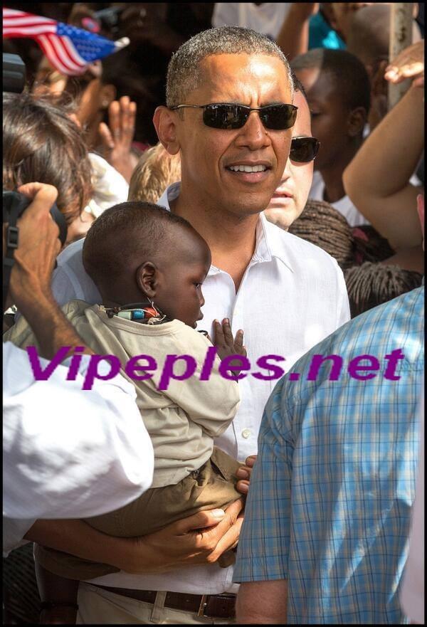 Obama fait une politique internationale à Gorée