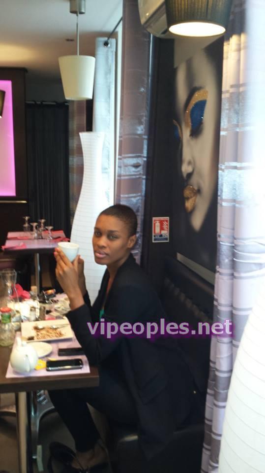 Ndeye Ndack, a pris des vacances en Italie
