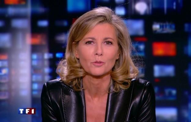 Agression: la présentatrice de TF1 Claire Chazal reçoit un seau d'excréments