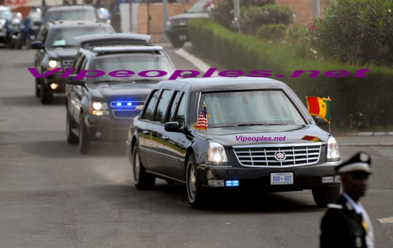 """Obama veut remplacer sa voiture, Surnommée la """"Bête"""""""