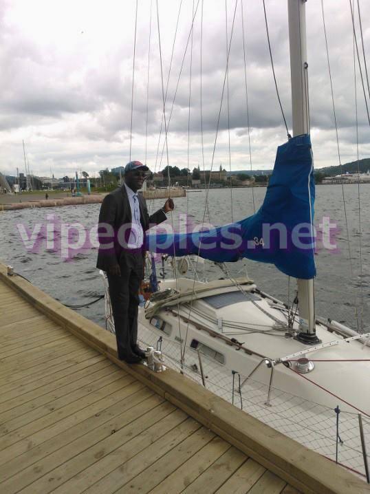 Souleymane Ndéné Ndiaye a visité la Norvège Oslo avant de revenir au bercail