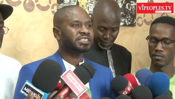 Conférence de Presse Baba HAMDY et les acteurs culturel face à la PRESS