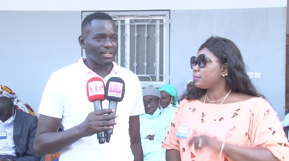 Don de matériel médical à Mbour avec Miroir Citoyenne de feu Mamadou Diop avec la Pdte Diatou Diop