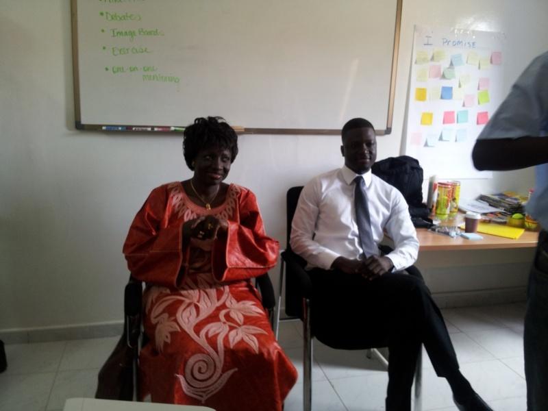 GIVE1PROJECT–SENEGAL : La Ministre De La Justice Aminata Touré Soutient La Jeunesse Et Le Leadership Féminin