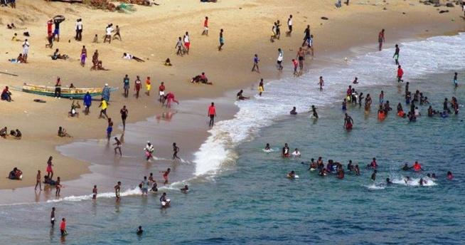 Liste des plages autorisées à Dakar :