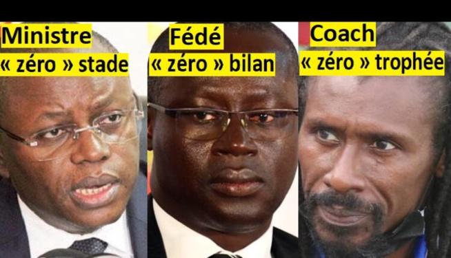 Matar Bâ, Augustin Senghor et Aliou Cissé ont maudit le foot Sénégalais