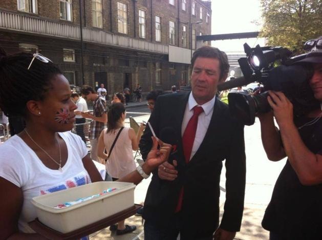 Création d'un gâteau pour la Princesse d'Angleterre : une Sénégalaise fait la une des grands journaux internationaux