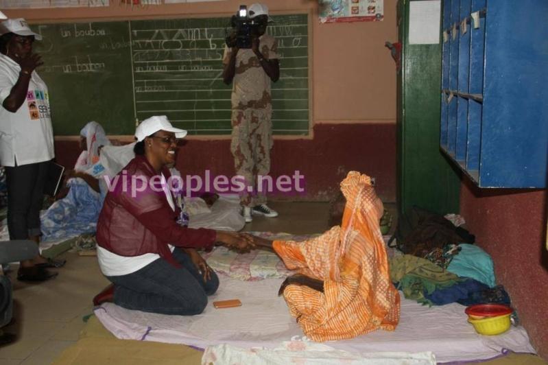 Une image parlante de la Premiere Dame du Sénégal