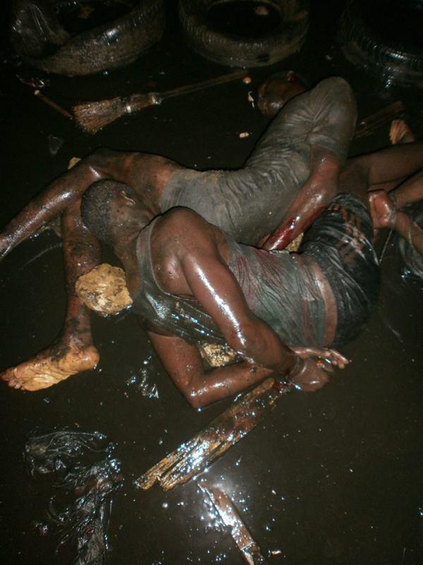 Des voleurs capturés et sauvagement battus à Medina Gounass