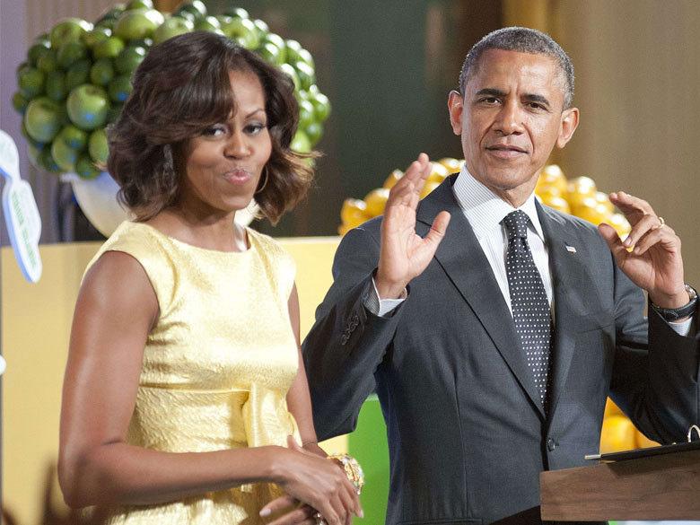 Michelle Obama souhaite bon anniversaire à son mari sur Twitter
