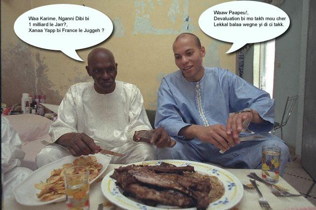 Premiére Korité de Karim Wade en prison